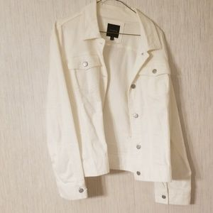 Womens white Jean jacket